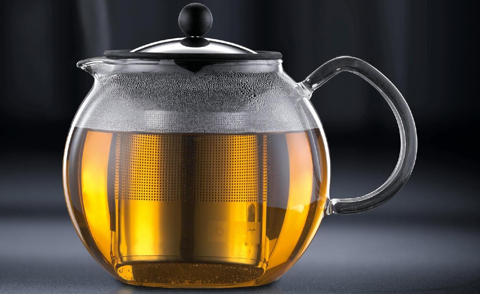Théière à piston en verre Bodum Assam